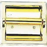 MINTCRAFT CSB107 Brass Recessed Paper Holder