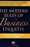 img - for Modern Rules of Business Etiquette book / textbook / text book
