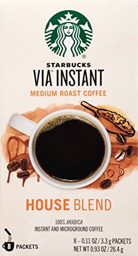 Starbucks VIA Instant Coffee, House Blend, 96 Count (House Blend Via compare prices)