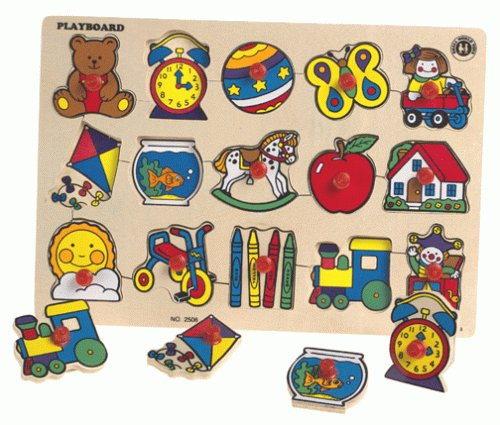 PUZZLES PLAYBOARD - Buy PUZZLES PLAYBOARD - Purchase PUZZLES PLAYBOARD (Small World Toys, Toys & Games,Categories,Preschool,Pre-Kindergarten Toys)