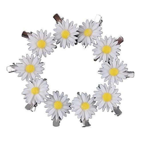 yueton-10pcs-little-daisy-flower-barrettes-bobby-pin-alligator-clip-hair-clips-bride-head-wear-edge-