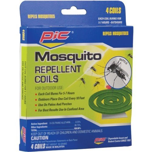 PIC C412 Mosquito Repellent Coils (12 Packs of 4) (Looking For Pic compare prices)