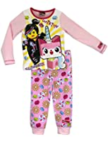 Character Girls Lego Movie Pyjamas Ages 3 to 10 Years