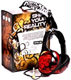 Wicked WI8202 Reverb Headphone - Black/Red