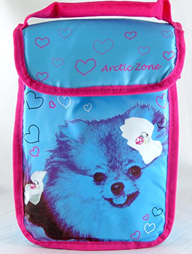 Arctic Zone Dog Lunch Bag (Blue/Pink)