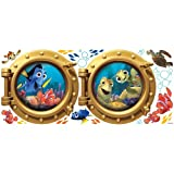 Roommates Rmk2060Gm Finding Nemo Peel  And  Stick Giant Wall Decals
