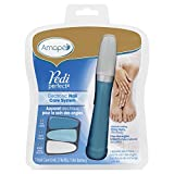 Amop-Pedi-Perfect-Nail-Care-System-Electronic-ManicurePedicure-Tool-File-Buff-Shine-Nails-Blue