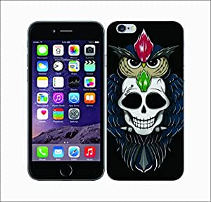 Galaxy Printed 2801 Skowlls Flower Hard Cover for Apple Iphone 6