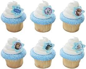 Disney39s Frozen Cupcake Rings-12 Ct