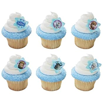 12 Disney's Frozen Cupcake Toppers