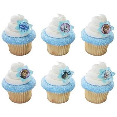 12 Disney's Frozen Cupcake Toppers