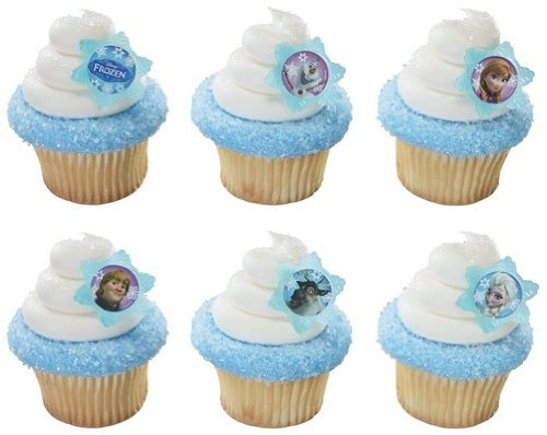 Disney's Frozen Cupcake Rings-12 Ct. - 1