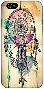 Snoogg Dream Catcher Colourful Case Cover For Apple Iphone 6+ / 6 Plus