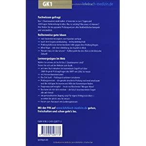 Das Erste: Kompendium Vorklinik - GK1 (Springer-Lehrbuch)