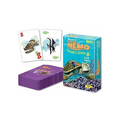 Briar Patch Finding Nemo Crush Crazy 8 Card Game