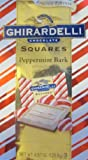 Ghirardelli Peppermint Bark Squares 4.57 Oz Package (Single)