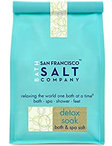 San Francisco Salt Company Detox Soak Bath Salts, 2 Pound