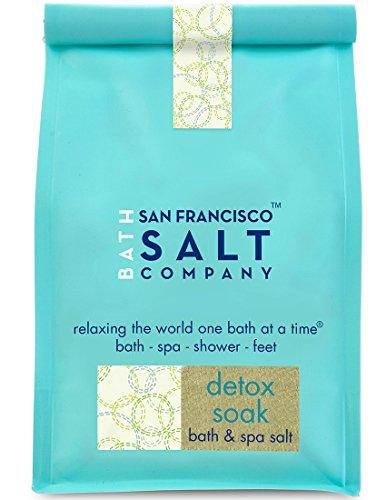 San Francisco Salt Company Detox Soak Bath Salts, 2 Pound