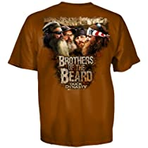 Duck Dynasty Brothers of the Beard T-shirt-3x-large