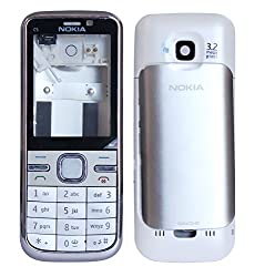 Nokia C5 Replacement Body Housing Front & Back Original Panel - White