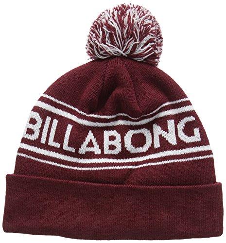 Billabong - Linus Beanie, Berretto da uomo, rosso (wine), unica