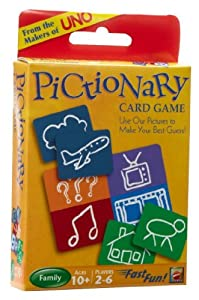 Pictionary Card Game