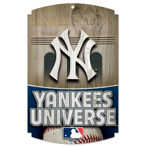 MLB New York Yankees Wood Signs at Amazon.com