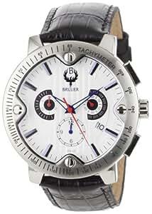 Brillier Men's 05-44421-01 Voyageur Tachymeter Watch
