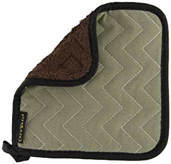 "San Jamar 802TF BestGuard Terry Cloth Pot Holder, 8"" Length x 8"" Width (Pack of 12)"