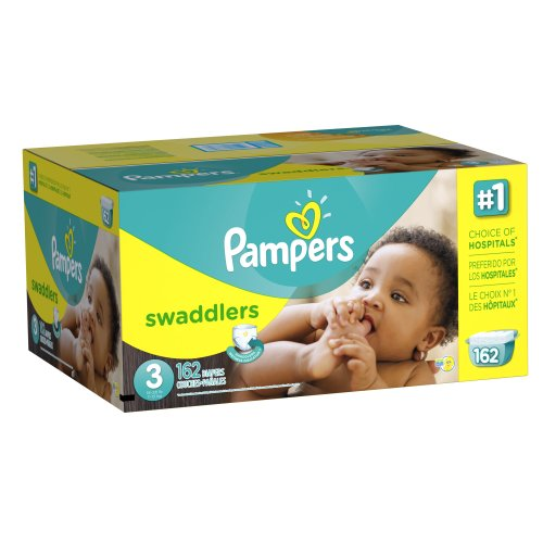 Pampers Swaddlers Diapers Size 3 Economy Pack Plus