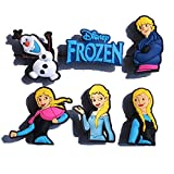 12 pcs Frozen Cartoon Shoe Charms - Anna Olaf Snow Queen Hanz