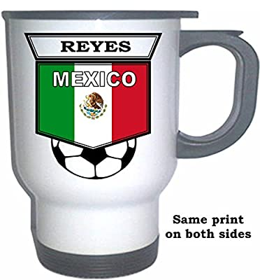 Diego Reyes (Mexico) Soccer White Stainless Steel Mug