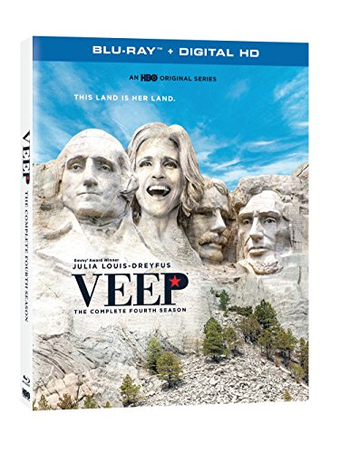 Blu-ray : Veep: The Complete Fourth Season (2 Pack, Digital Copy, Digitally Mastered in HD, 2 Disc)