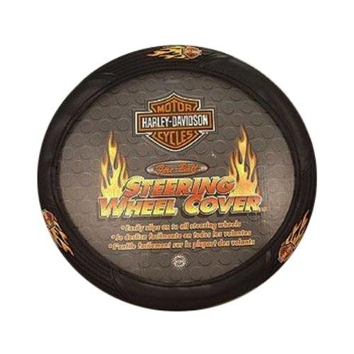 com Harley Davidson   Steering Wheel Cover Flames by Harley Davidson