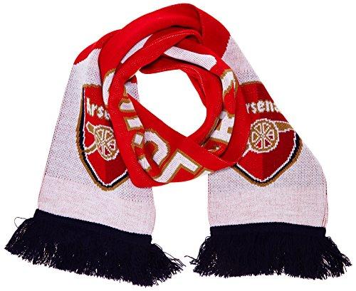 PUMA, Sciarpa Arsenal Fan, Rosso (High Risk Red-White-Estate Blue), Taglia unica