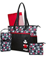 Disney 5 in 1 Tote Diaper Bag, Mickey