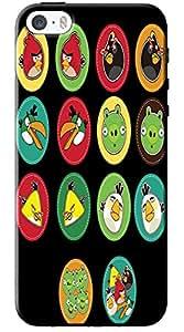 EU4IA Pattern MATTE FINISH 3D Back Cover Case For iPhone 5 - D069