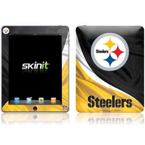 Skinit Protective Skin (Fits Latest Apple iPad); NFL Pittsburgh Steelers Logo