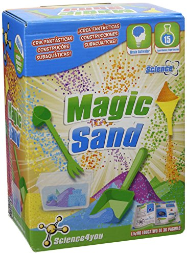 Science4you - Magic Sand, juego creativo con 15 experimentos, +6 años (5206)