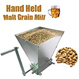 LussoLiv Hand Held Malt Grain Mill Home Brewed Beer Machine