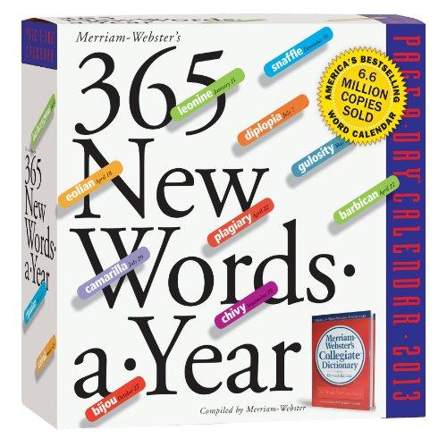 365 New Words-a-Year 2012 Calendar