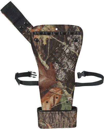 Allen Company Broadhead Hip Quiver for Aluminum or Carbon Arrows (Holds 6 Arrows, Green)