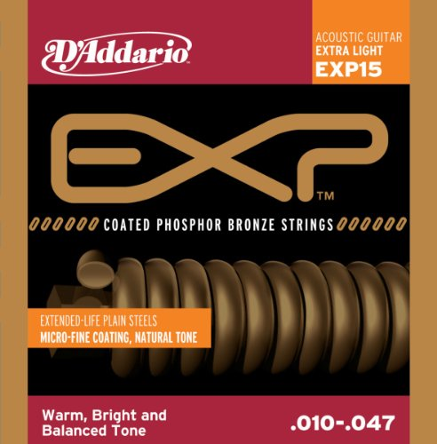 D'Addario EXP15 Coated Phosphor Bronze Acoustic