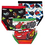 Disney Pixar Cars Team Lightning McQueen 3 Pack Boys Briefs for boys