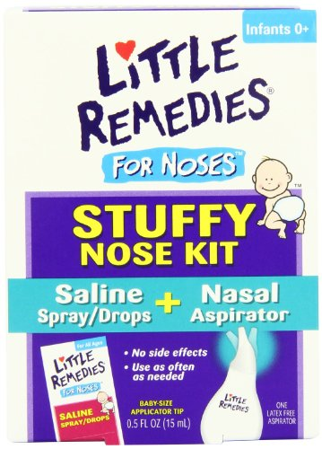 Little Remedies For Noses Stuffy Nose Kit - 0.5 Fl Oz. front-818993