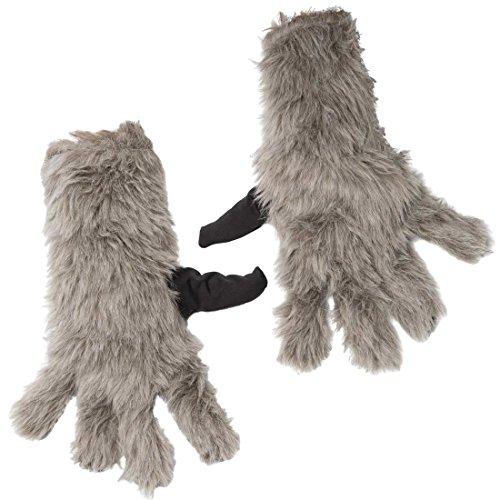 Adult Rocket Raccoon Gloves - 1
