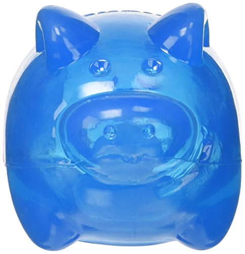 Kong Squeezz Jels Pig Squeaking Dog Toy