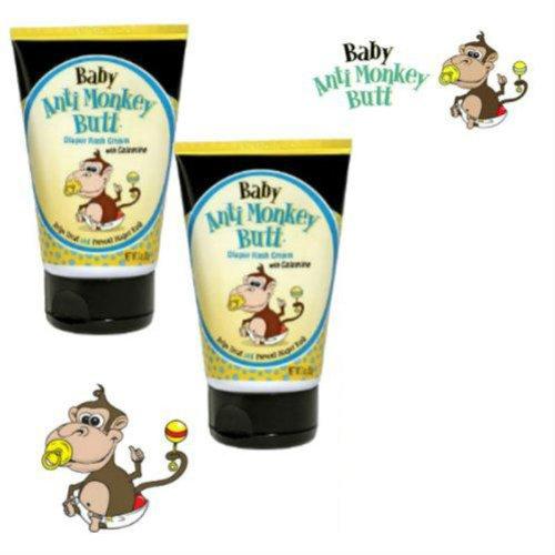 Baby Anti-Monkey Butt Diaper Rash Cream 3Oz - (2 Pack)