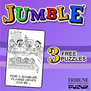 Jumble, 3 Free Puzzles