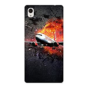 Impressive Premier Blast Plain Multicolor Back Case Cover for Xperia M4 Aqua